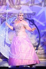 Alison Jiear as the Fairy Godmother Pics by Robert Day